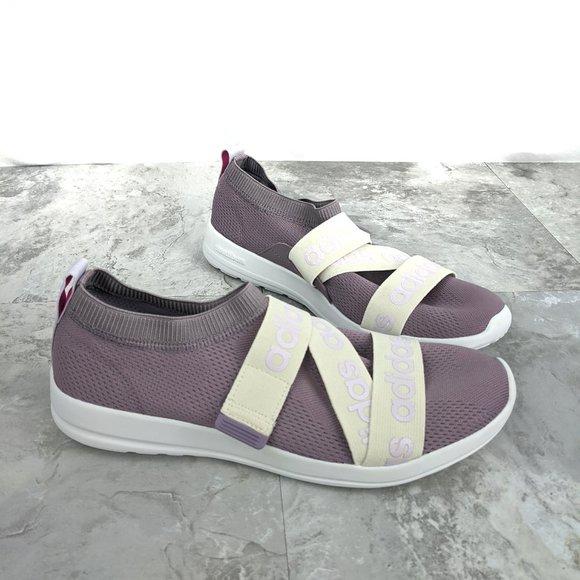 adidas purple white